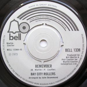 """Bay City Rollers - Remember (7"""", Single)"""