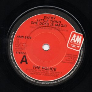 """The Police - Every Little Thing She Does Is Magic (7"""", Single)"""