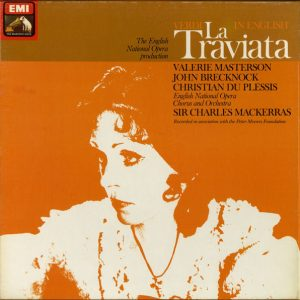 Verdi* / Valerie Masterson* / John Brecknock / Christian Du Plessis / English National Opera Chorus* And Orchestra*, Sir Charles Mackerras - La Traviata (2xLP + Box)