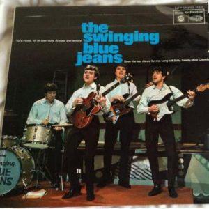 The Swinging Blue Jeans - Blue Jeans A-Swinging (LP, Album, Mono)