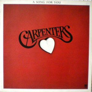 Carpenters - A Song For You (LP, Album)