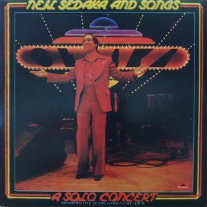Neil Sedaka - Neil Sedaka And Songs - A Solo Concert (2xLP, Album, Gat)