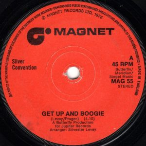 """Silver Convention - Get Up And Boogie (7"""", Single, Sol)"""