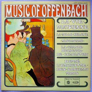 Offenbach* — Dupré*, L'Orchestre Des Concerts De Paris* - La Vie Parisienne (LP, Mono)