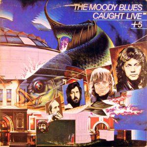 The Moody Blues - Caught Live +5 (2xLP, Album, Gat)